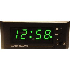 12v 12 hour Alarm Clock, Panel Mount LQ1201AL