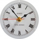 Clock Movement 12 Hour Roman Numeral 87mm